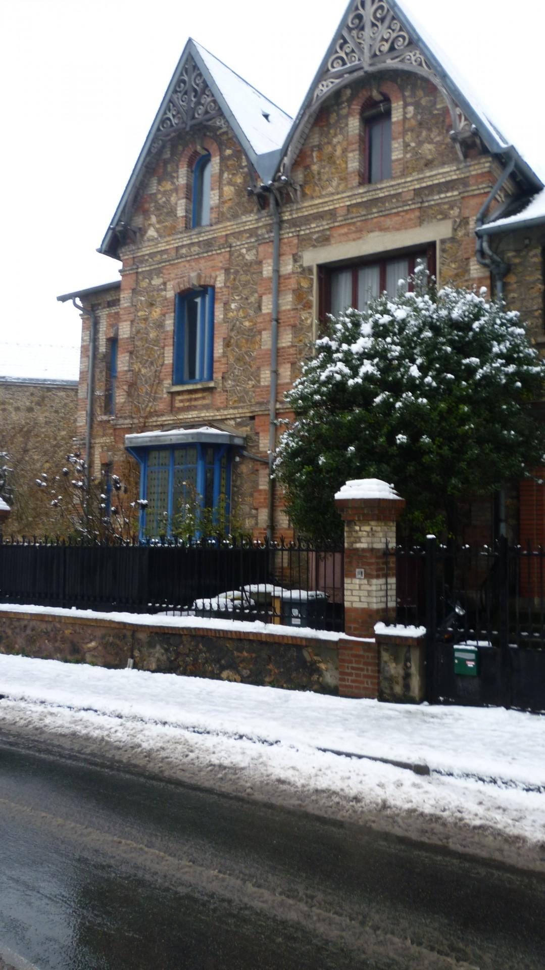 Neige à Antony